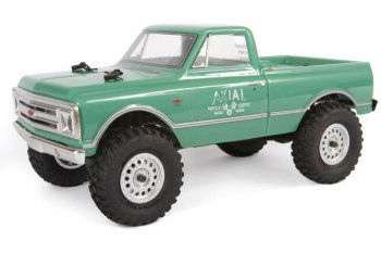 AXIAL SCX24 1967 Chevrolet C10 4WD 1/24 Truck Brushed RTR, Green