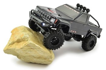 FTX OUTBACK MINI 1:24 TRAIL READY-TO-RUN BLACK (FTX5502BK)