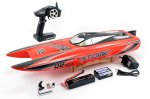 VOLANTEX RACENT ATOMIC 70CM BRUSHLESS RACING RC BOAT RTR - RED