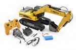 HUINA 1/14 FULL ALLOY 23CH RC EXCAVATOR
