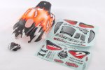 HoBao Hyper9 Pre-printed Bodyshell - Orange