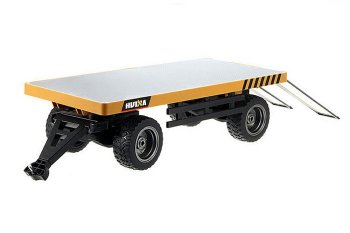 HUINA RC ALLOY FLATBED TRAILER