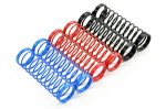 FASTRAX 1/10 95MM SPRING SET SOFT/BLUE,MED/RED,HARD / BLACK