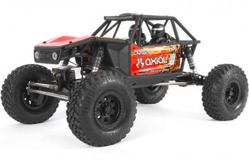 Axial Capra 1.9 Unlimited 4WD Trail Buggy Brushed RTR, Red