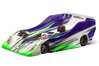 Protoform R15B 1/8 Circuit Clear Bodyshell