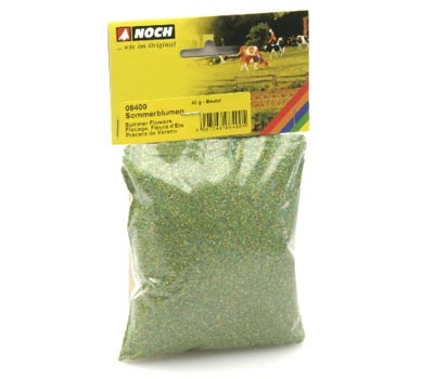 08400 Noch Summer Flowers, Multi Colored, bag 42g
