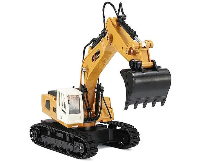 HUINA 2.4G 9CH RC EXCAVATOR 1/18