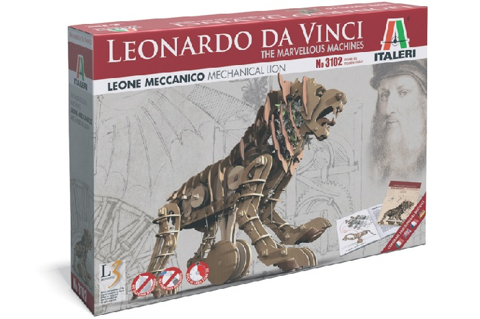 Mechanical Lion - Italeri