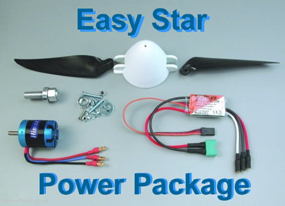 Multiplex 332622 EasyStar II Power Set