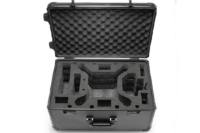 Aluminum Trolley Case Pull Rod Hand Box Case for DJI Phantom 4/