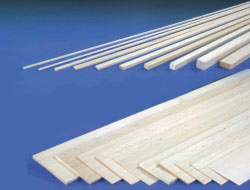 1.5mm x 100mm x 1mtr SHEET BALSA