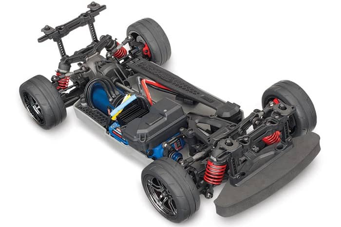 TRAXXAS 4Tec 2.0 4WD VXL ChassQ 2.4 No, battery,charger,body