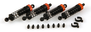 HLNA0012 F&R SHOCK SET WITH BALL STUDS(ANIMUS)