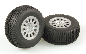 HLNA0077 TYRES SILVER WHEEL PAIR (DOMINUS SC)