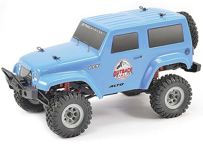 FTX OUTBACK MINI 2 ALTO 1/24 READY-TO-RUN BLUE