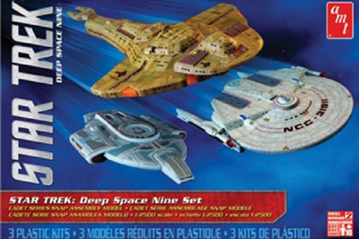 1:2500 Star Trek Cadet Series Deep Space 9 - 3 ship set