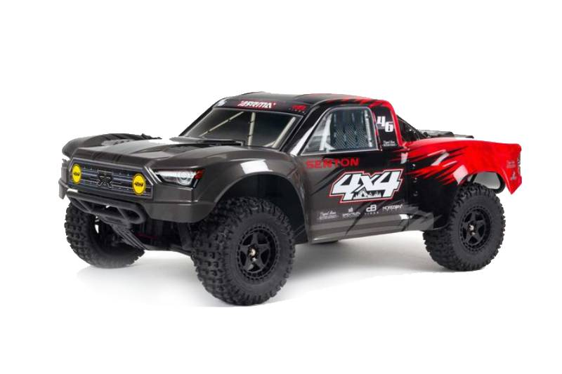 ARRMA SENTON 4X4 V3 MEGA 550 Brushed Short Course Truck RTR, Red