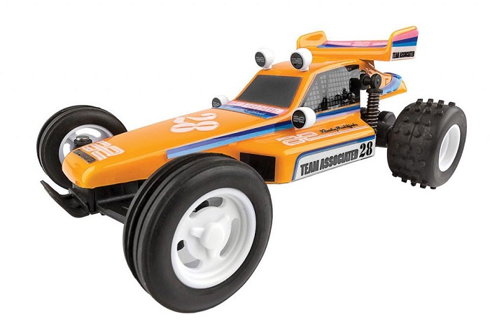 ASSOCIATED AE QUALIFIER SERIES RC28 1:28 RC BUGGY RTR