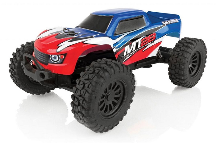 ASSOCIATED AE QUALIFIER SERIES MT28 1:28 RC MONSTER TRUCK