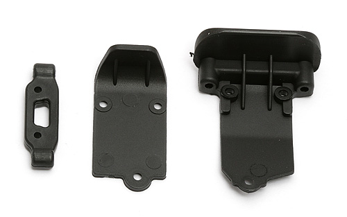 ASSOCIATED RC18T2/B2 ARM MOUNT /BUMPERS