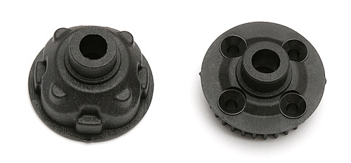 ASSOCIATED RC18B2/T2/SC18 GEAR DIFF CASE (REAR)