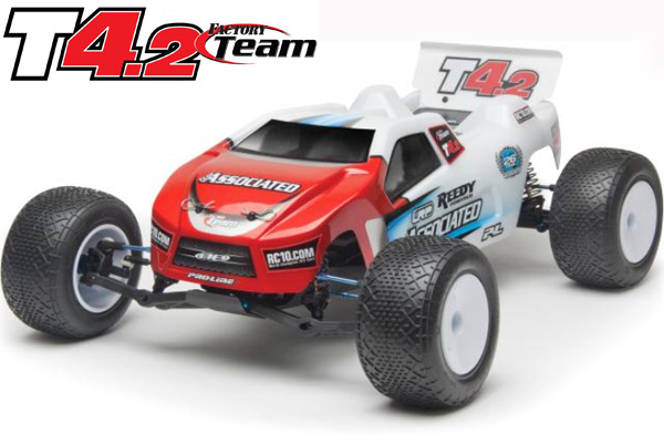 Team Associated RC10T4.2 Factory Team 1:10 Scale 2WD Electric Of
