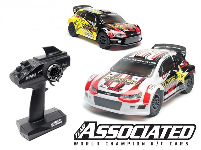 Team Associated ProRally 4WD Brushless Powered RTR Rally RC Car