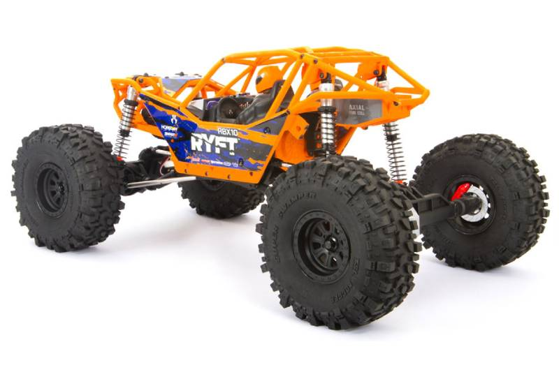 Axial RBX10 Ryft 4WD Brushless Rock Bouncer RTR, Orange