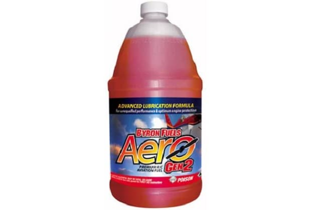 Byron Aero Gen2 Premium Aircraft Fuel 15% Nitro 16% Oil 4 Cycle