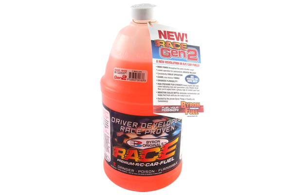 RC Nitro fuels Byron Race Gen2 25% Nitro, 11 % Λάδι (1/2 Γαλόνι)