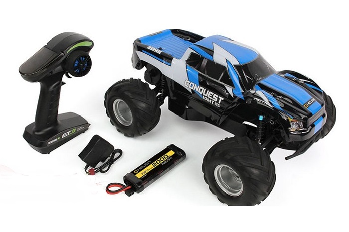 1/10 Conquest 10MT - Brushless Monster Truck RTR