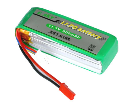 (EK1-0188) - Li-Polymer battery (11.1v - 800mAh)