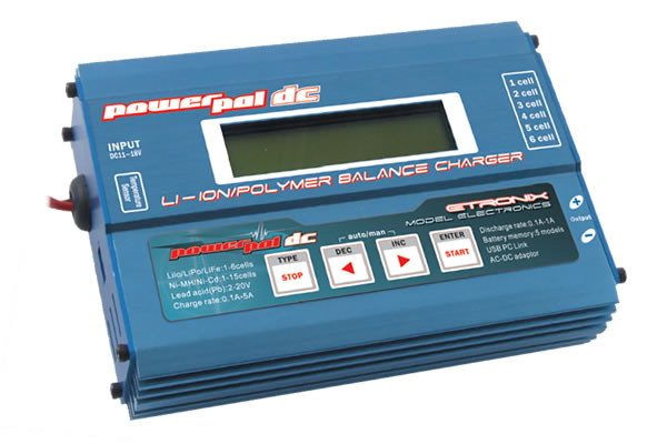 Etronix PowerPal DC Balance Charger-Discharger & Cycler
