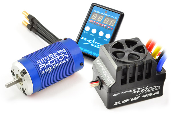 Etronix Photon SC 2.1FW 120A Full Waterproof Brushless System wi