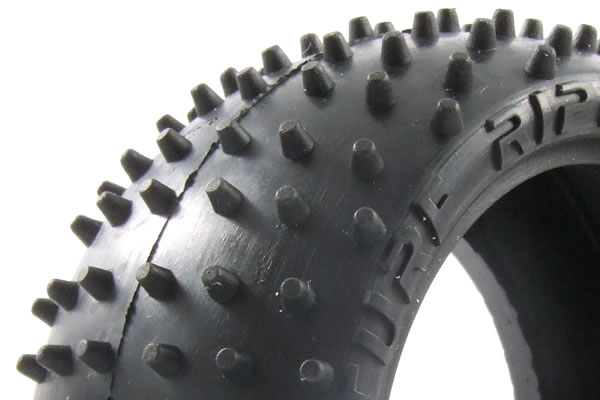Fastrax Turf Ripper 1/10 Scale 2WD/4WD Rear Buggy Tyre (2)