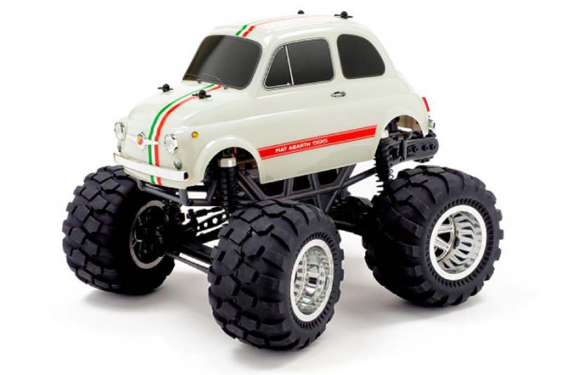 CEN RACING Q-SERIES FIAT ABARTH 595 1/12 SOLID AXLE RTR TRUCK