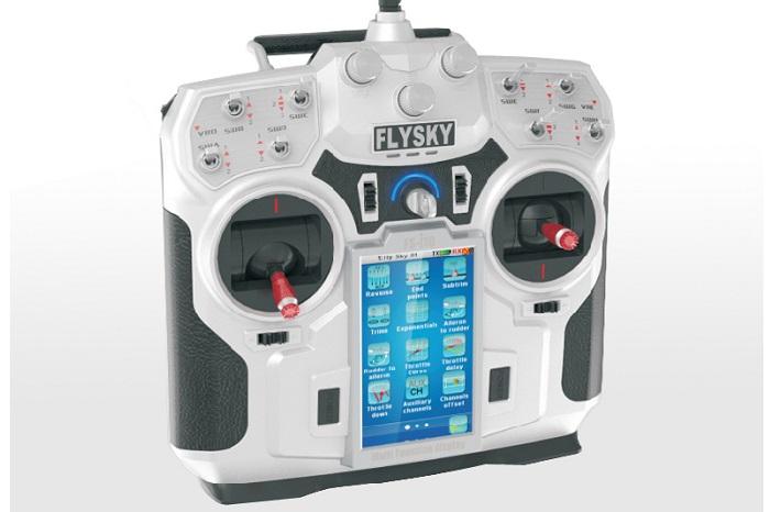 Flysky FS-i10 10CH 2 4GHz AFHDS 2 LCD Transmitter with FS