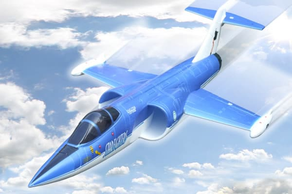 FMS F104 Starfighter 70mm Ducted Fan, Electric RC Jet - Foam