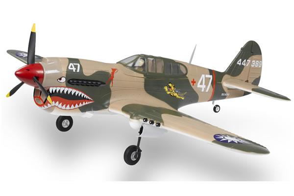 FMS WWII P40 Warhawk Electric ARTF Aircraft (Retract Landing