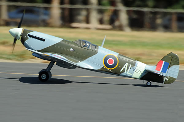 FMS WWII Spitfire Electric ARTF Aircraft (Retract Landing