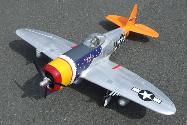 FMS WWII P-47 Thunderbolt Electric ARTF Aircraft (Retract