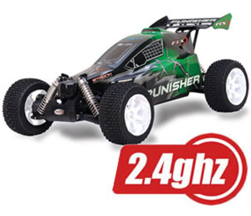 FTX Punisher Plus RTR 1/5 Buggy 4WD (28cc Gas Engine) with 2.4GH