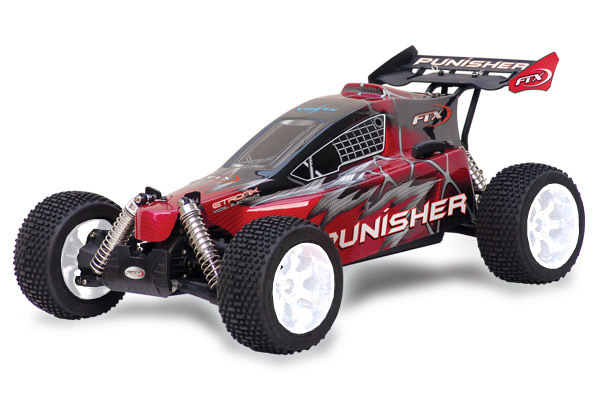 FTX Punisher Plus RTR - 4WD, 1/5 Buggy (28cc Gas Engine) with 2.