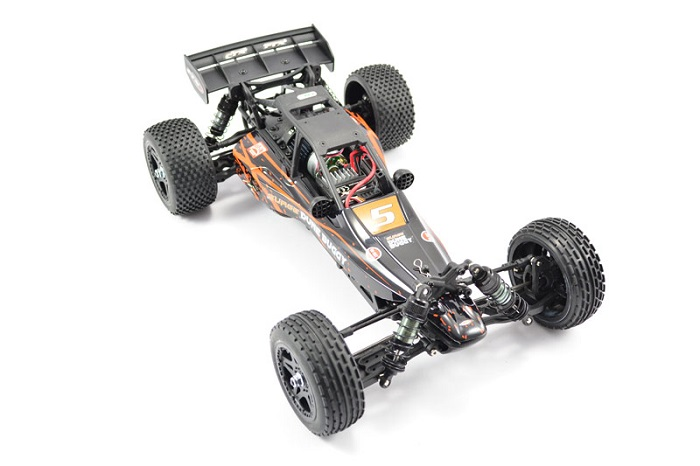 FTX Surge Electric 4WD Dune Buggy - Orange