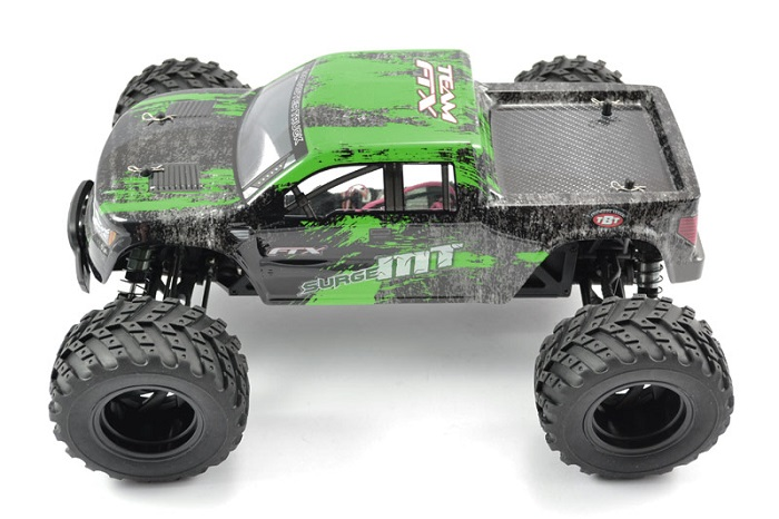 FTX Surge 4WD Electric Monster Truck RTR - Green