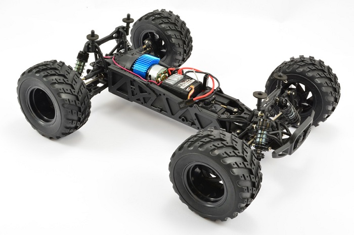 FTX Surge RTR Electric RC Monster Truck 4WD - Orange
