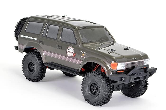 FTX OUTBACK MINI X LC90 1:18 TRAIL READY-TO-RUN GREY