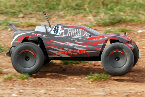 FTX Siege 1/10 Brushed RTR 2WD Electric RC Truggy