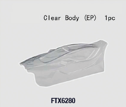 FTX 6280 Vantage Clear Buggy Ep Body 1Pc