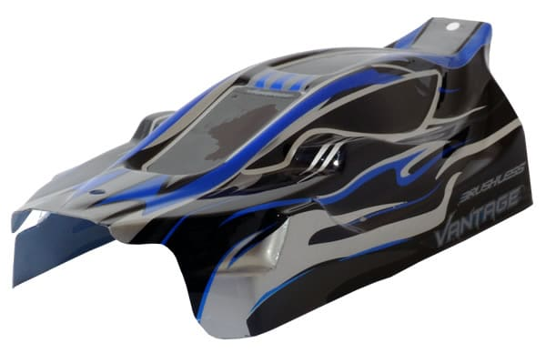 FTX Vantage Ep Buggy Body/Καπάκι Βαμμένο - Black (Brushless)